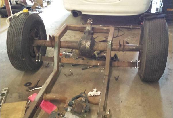T-Bucket rear