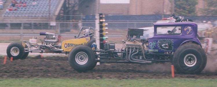 Dirty Rat mud racing Speedway Motors Vicky modified body