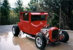 1927 Ford Model T Coupe Hot Rod Built by Bob