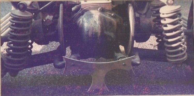 Jag rear axle assembly