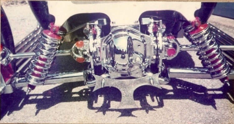Jaguar independent rear suspension