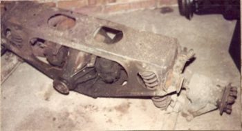 Jaguar rear axle