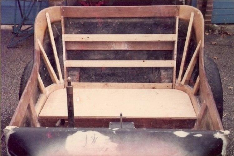 T-Bucket Upholstery Insert