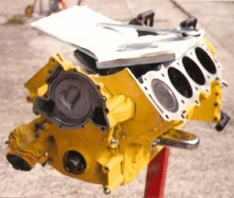 T-Bucket engine assembly
