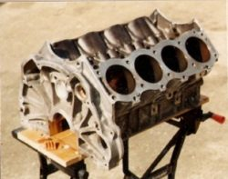 T-Bucket engine disassembly