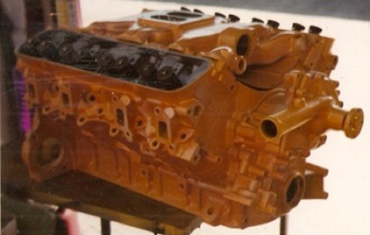 T-Bucket engine paint