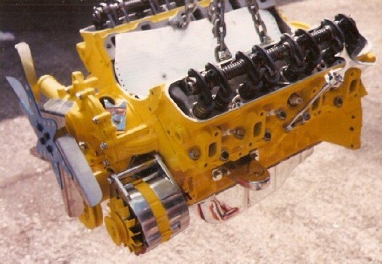 T-Bucket engine transmission installation