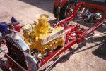 T-Bucket Engine Transmission Installation in
