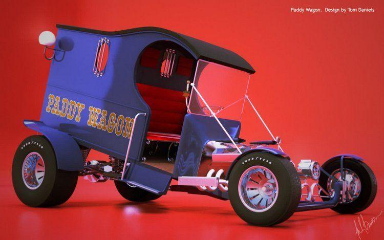 Tom Daniel Paddy Wagon C-Cab Street Rod