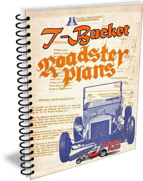 1960s T-Bucket plans Allied Industries
