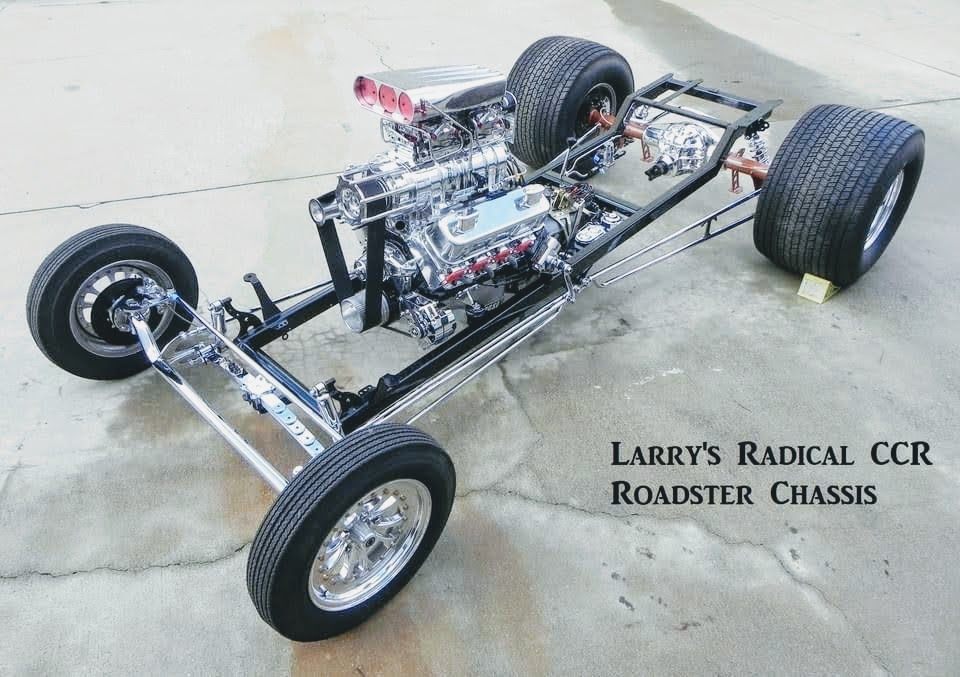 CCR T-Bucket Chassis