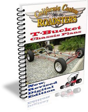 California Custom Roadsters T-Bucket Chassis Plans