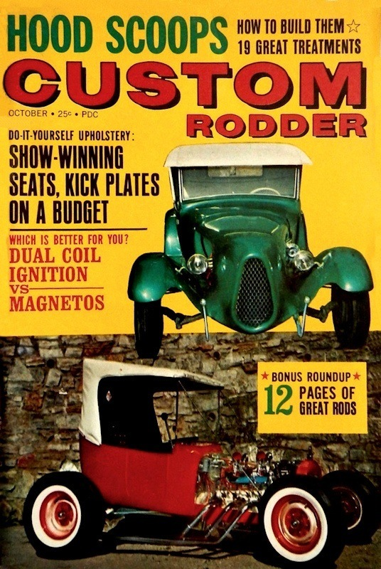 Larry Ryan T-Bucket Ray Farhner Custom Rodder October 1962
