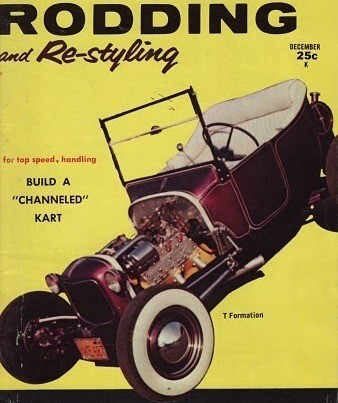 Bob Johnston T-Bucket Rodding and Restyling December 1959