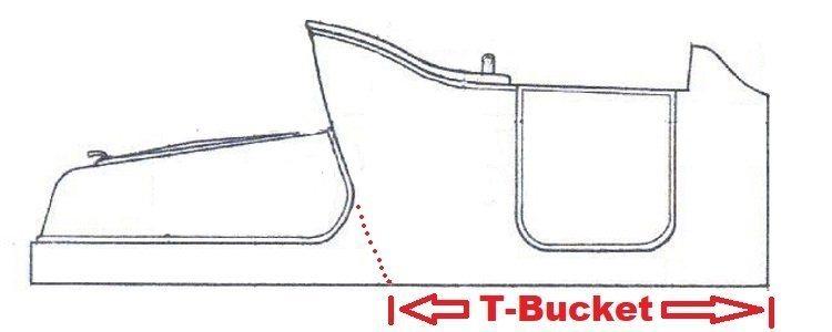 T-Bucket Body Drawing