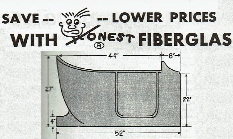 Honest Charley fiberglass T-Bucket body