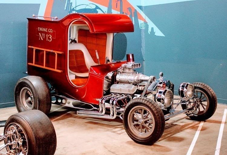 Galpin Auto Sports Chuck Miller Fire Truck C-Cab