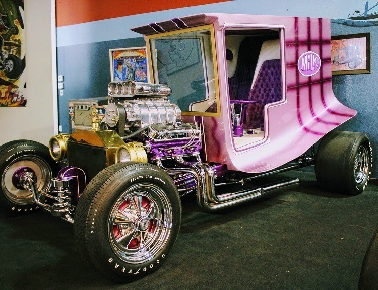 Galpin Auto Sports Dan Woods Milk Truck