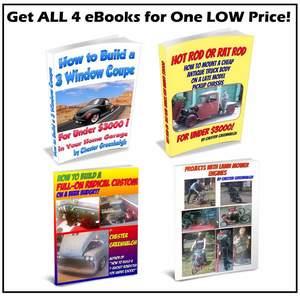 Budget Street Rod How to Books