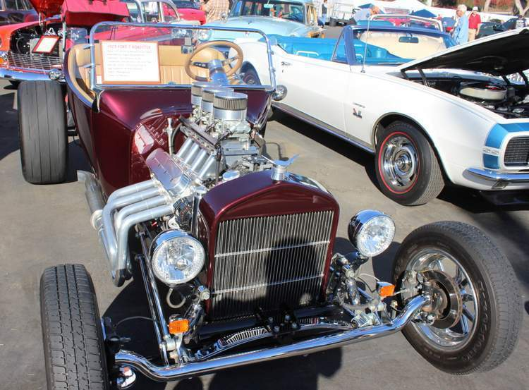 Southern California Car Shows T-Buckets Galpin Car Show Bill Maropulis