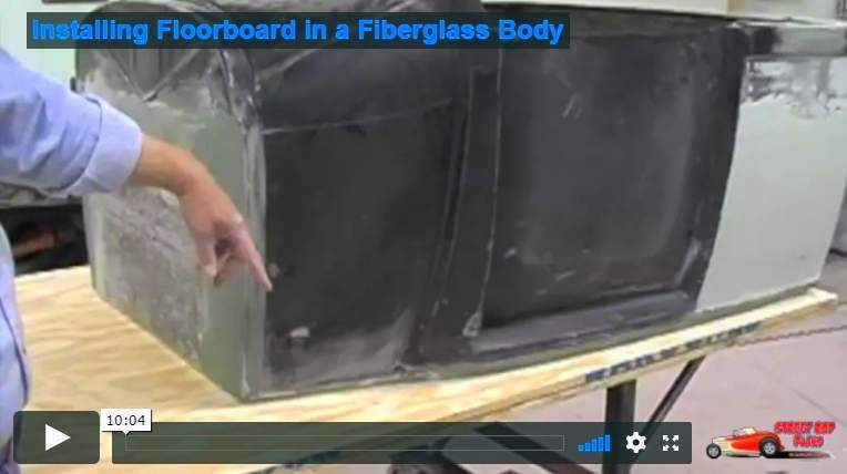 fiberglass body floor how to video