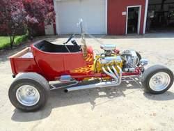 Gary Monsarratt custom T-Bucket budget build