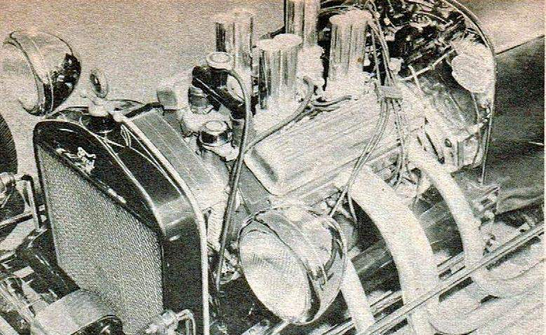 Bill Strickland T-Bucket roadster
