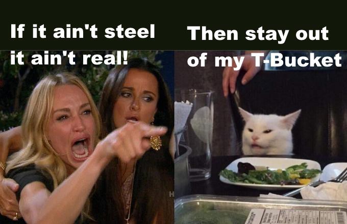 If it aint steel
