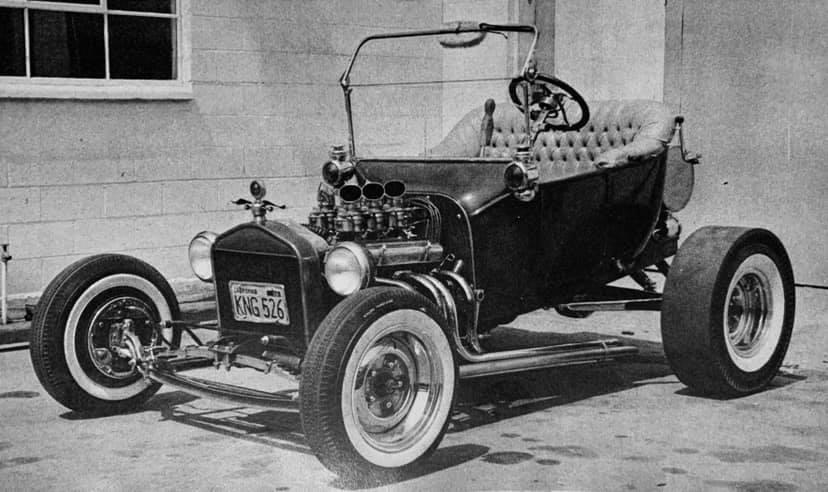 Gary Hendrickson T-Bucket roadster
