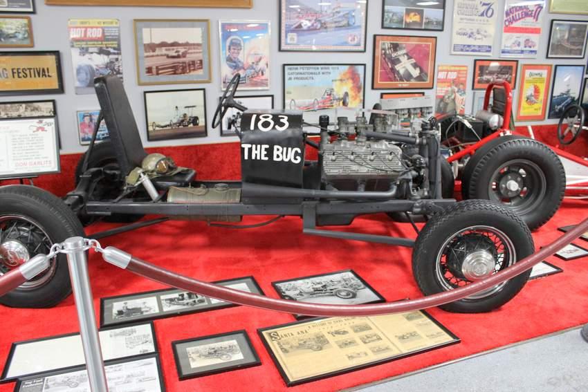 First Rail Dragster Bug Dick Kraft