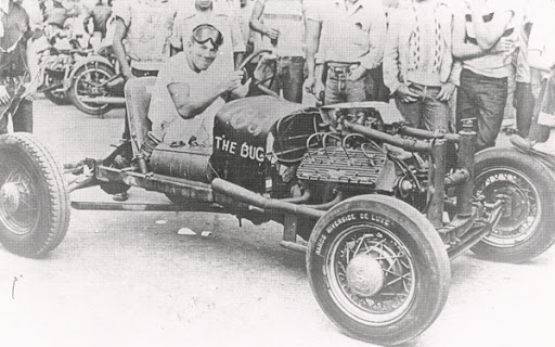 first rail dragster Dick Kraft The Bug