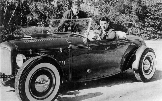 Rick Nelson Tony LaMasa roadster